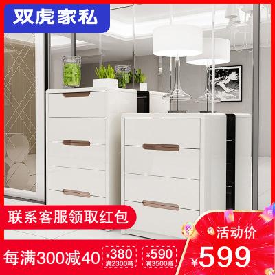 雙虎家私 五斗柜抽屜柜特價現代簡約經濟型臥室收納柜子儲物柜QX1