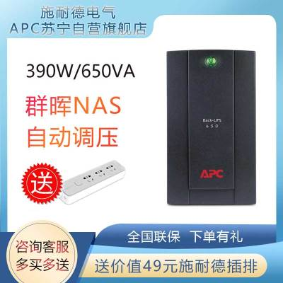 APC 施耐德 UPS BX650CI-CN UPS不間斷電源 390W/650VA NAS后備電源
