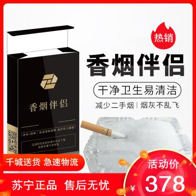空氣潔凈片空氣清新劑廁所煙灰缸熄煙片除煙味除二手煙 10包裝(共100小包)都市誘惑