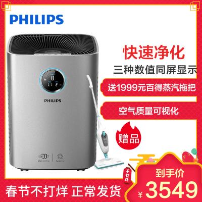 飞利浦(Philips)空气净化器AC5663/00除PM2.5除甲醛气态污染数字显示颗粒物CADR600m3/h