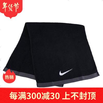 正品NIKE耐克运动毛巾健身羽毛球跑步擦汗巾男女吸汗降温毛巾