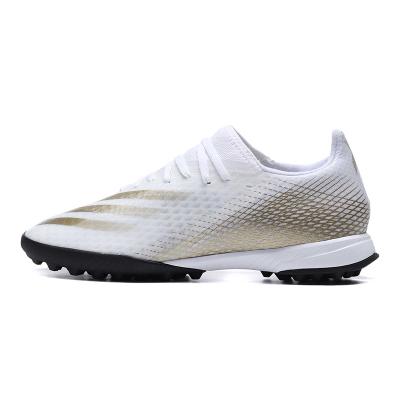 阿迪達斯男鞋足球鞋X GHOSTED.3 TF碎釘運動鞋EG8199