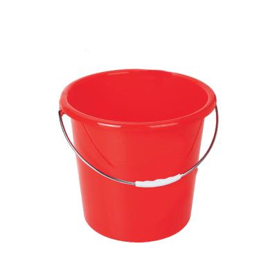 紅色 加厚塑料水桶 25L 紅色