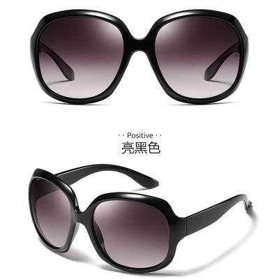 新款女士偏光太阳镜 防紫外线墨镜 时尚大框太阳眼镜