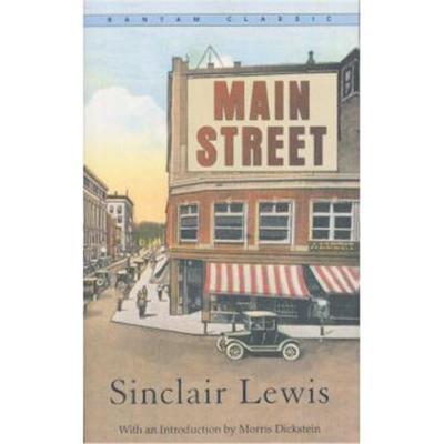 Bantam Classics: Main Street大街 英文原版 Sinclair Lewis(辛克莱·刘易