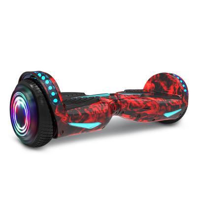 【全国联保,送安全护具】阿尔郎(AERLANG)智能平衡车儿童8-12双轮电动双轮扭扭车代步车X7H 火焰红