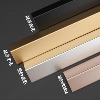 鋁合金護角條裝修護墻角保護條墻護角包角防撞陽角墻紙收邊條線貼 炭黑色3.0寬 1.5m