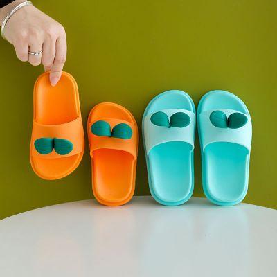 依藍圣雪兒童拖鞋夏季卡通可愛男女童親子防滑室內家居浴室洗澡寶寶涼拖鞋