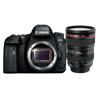 【二手95新】佳能(Canon) EOS 6D Mark II 全畫幅數碼單反相機 6D2+24-105mm 【套機】