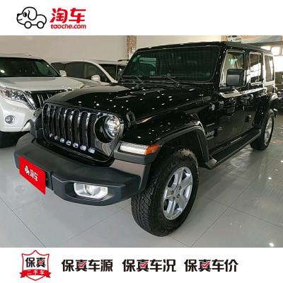 【訂金銷售】 Jeep 牧馬人 2019款 2.0T Sahara四門版 淘車二手車