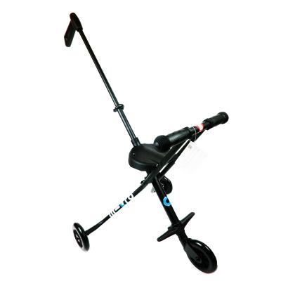 瑞士micro米高trike溜娃神器 遛宝宝手推车简易折叠儿童车三轮车