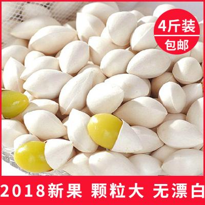 2018新鲜白果银杏果特级 泰兴鲜白果子干货干百果生的 4斤装