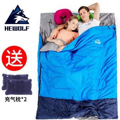 睡袋成人露營戶外冬季防寒保暖隔臟家用室內加厚雙人便攜式大人