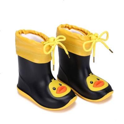 儿童雨鞋男童女童幼儿园小童防滑轻便中筒可爱卡通小童23456岁新