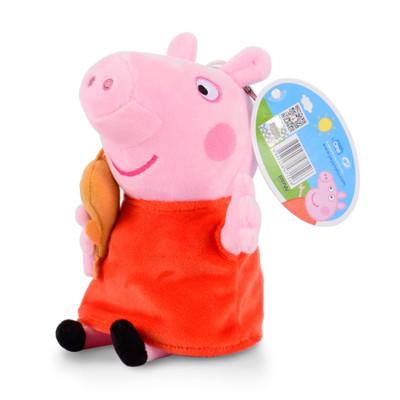 小豬佩奇Peppa Pig毛絨玩具佩佩抱熊 30cm