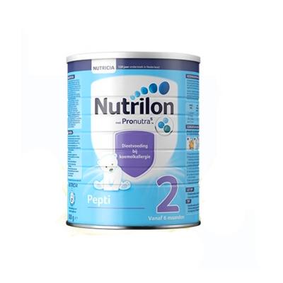 荷兰原装进口牛栏诺优能Nutrilon深度水解 Pepti 特殊配方奶粉2段适合6个月以上宝宝 800g每罐
