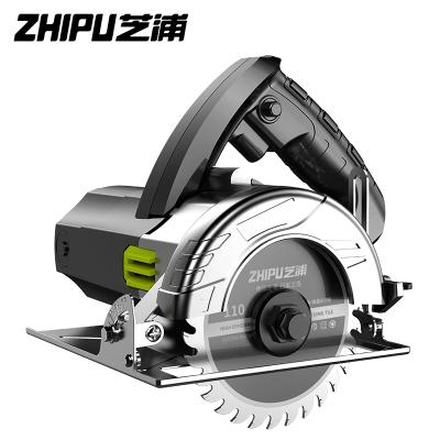 芝浦(ZHIPU)切割機家用小型大功率多功能手提瓷磚石材金屬木材開槽云石機電鋸 專業款3680AW標配