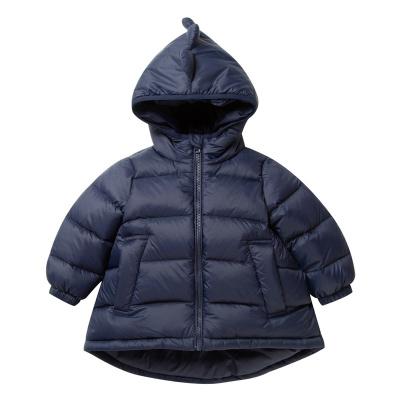 迷你巴拉巴拉嬰兒羽絨服男寶寶衣服新年冬新款恐龍造型羽絨外套