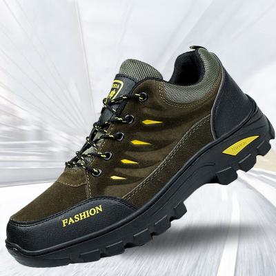 新款男士四季户外跑步鞋登山鞋休闲旅游鞋慢跑鞋防滑耐磨运动鞋 衫伊格(shanyige)