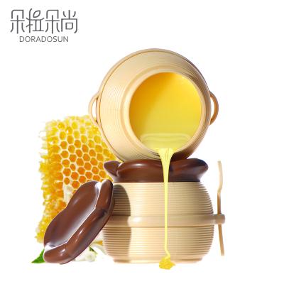 【买2送1】朵拉朵尚dora dosun牛奶蜂蜜手蜡膜170g滋润营养保湿补水嫩白去角质手膜手部护理3罐一周期美手工具