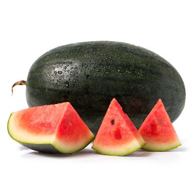 【現售】百寶源越南黑美人西瓜6-8斤 (1個) 皮薄脆甜 果肉粉紅色新鮮采摘 壞果包賠