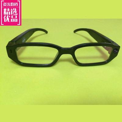 多功能監控無線攝像頭數碼眼鏡拍照錄像錄音眼鏡vr智能眼鏡黑科技_升級版有孔高清無卡
