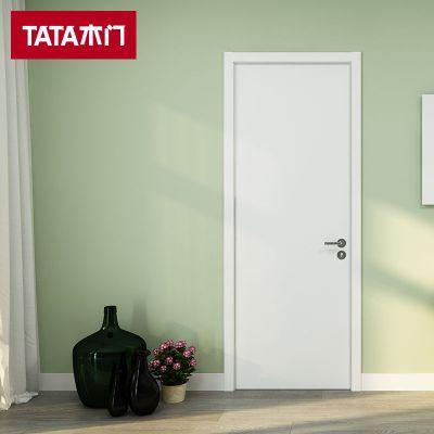 TATA木門 簡約時尚室內房門臥室套裝門 實木復合免漆定制木門@001