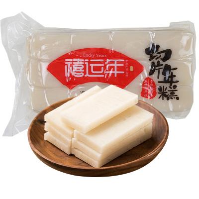 禧運年切片年糕400g 水磨年糕片 袋裝糍粑年糕 韓式辣醬炒年糕食材 部隊火鍋原料 餌塊芝士年糕