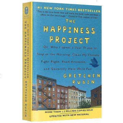 正版 幸福計劃 英文原版 哲學書 The Happiness Project 英文版原版 Gretchen Rubi