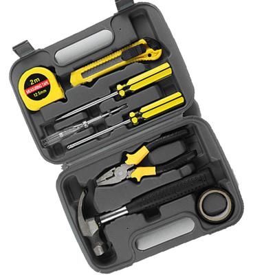 【新品大促】工具9件套礼品工具箱 家用工具盒家庭工具套装组合工具