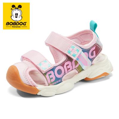 BOBDOG HOUSE巴布豆童鞋兒童涼鞋夏季男童女童寶寶1-3歲沙灘鞋B8659