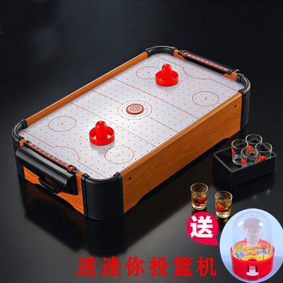 木質冰球機大號桌上冰球游戲臺親子互動桌游兒童趣味玩具