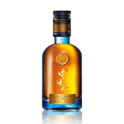 中仕忌 調配 威士忌 40度100ml 綿柔順口 層次豐富