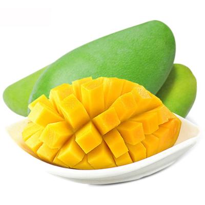 【第二件減10元】越南新鮮青皮玉芒帶箱5斤凈重 4.5斤5-10個(拍2件合發帶箱10斤 凈重9斤左右)新鮮熱帶水果