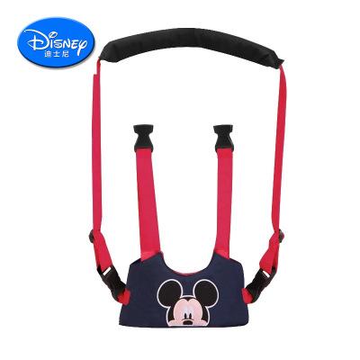 迪士尼(DISNEY) 嬰兒學步帶學走路透氣四季通用防勒防摔安全防走失牽引兒童寶寶學行帶夏季透氣款 棉質 60KG