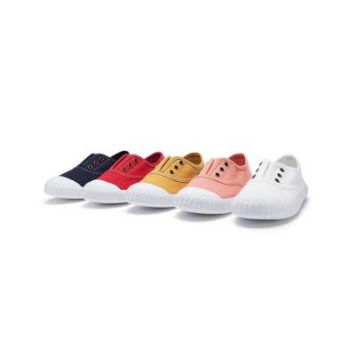 【1件5折】巴拉巴拉儿童小白鞋帆布鞋女童鞋小童宝宝鞋子男童2019新款布鞋潮