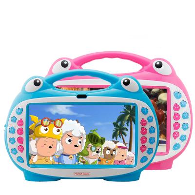 MALATA/萬利達9寸1024*600學習機兒童故事護眼小孩觸摸早教機嬰幼兒寶寶視頻娃娃英語電腦16G觸摸點讀版 藍色