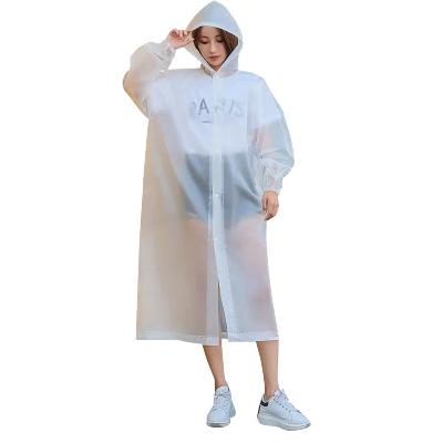 時尚雨衣外套男女加厚成人便攜防水戶外旅游連體通用非一次性雨披