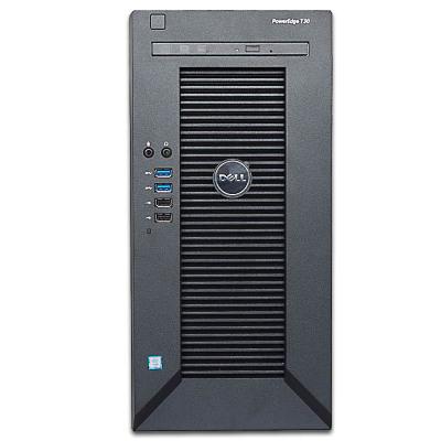 戴爾(DELL) T30小型ERP塔式服務器至強四核E3-1225V5 3.3GHz 16G/1*1T硬盤/DVD