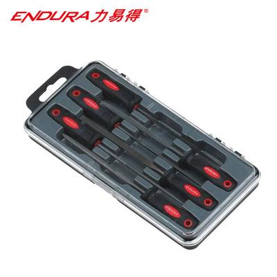 力易得(ENDURA)6件套什锦锉 带柄锉刀 3x140mm E9033
