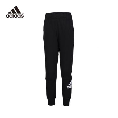 Adidas/阿迪達斯正品男童2020春款大童褲子兒童運動褲DV0786
