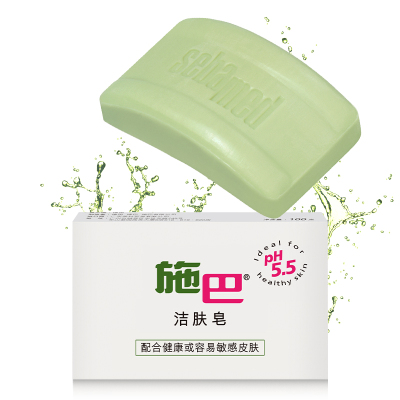 施巴(sebamed) 母嬰孕產婦潔膚皂 100g 孕婦洗澡沐浴皂德國進口弱酸性配方