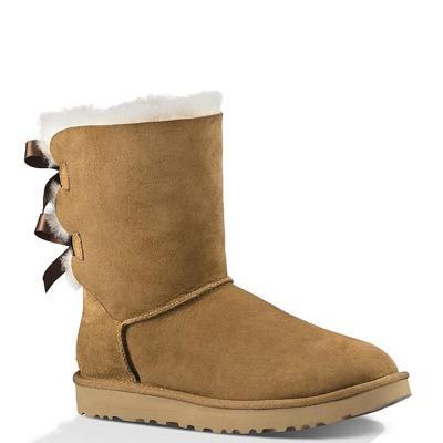 【直营】UGG(UGG) Bailey Bow ll 贝莉蝴蝶结2.0中筒女士保暖雪地靴女靴1016225