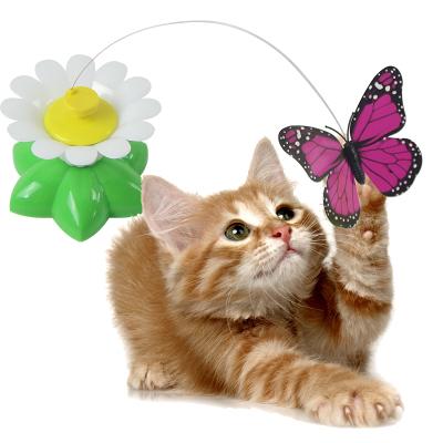 憨憨宠 电动蝴蝶猫玩具宠物玩具逗猫棒自动逗猫器旋转玩具猫咪用品