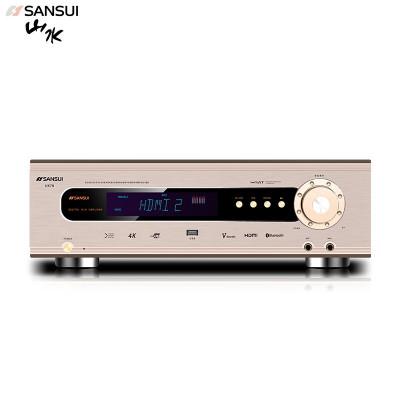 山水(SANSUI)ux70 音響功放 音箱 家庭影院5.1聲道AV功放機 高保真無線藍牙家用卡拉ok功放機