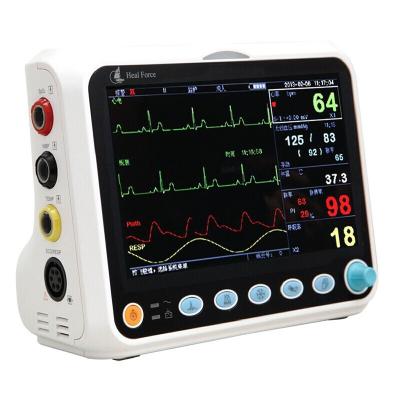 力康家用多參數監護儀PC-3000測血壓血氧體溫脈率呼吸心電圖心率