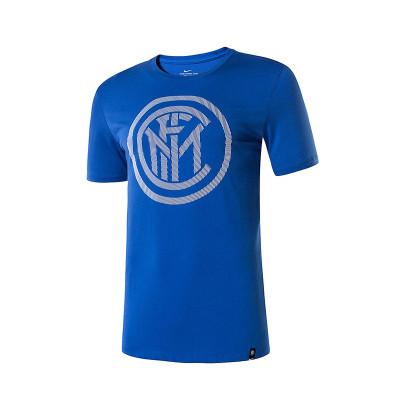 耐克(NIKE) 夏季國際米蘭官方正版文化衫男 運動T恤 857356-480