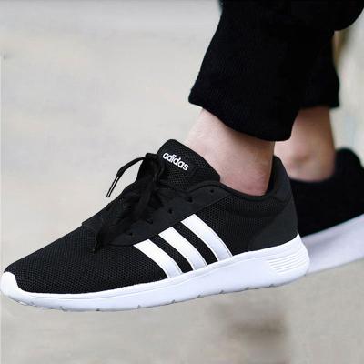 Adidas/阿迪達斯男鞋2019夏季NEO運動鞋透氣面輕便跑步鞋B28141