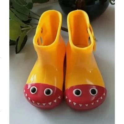 梅*莎~儿童雨鞋男童女童学生公主可爱防滑小孩雨靴中大童胶鞋宝宝