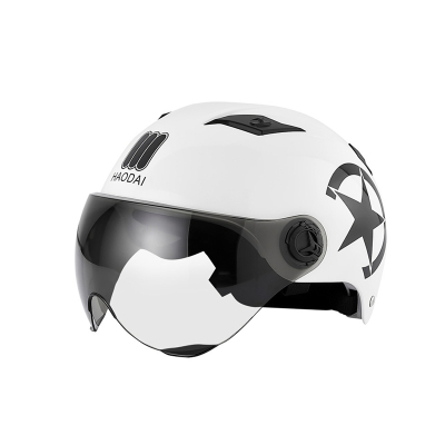 邁古(MG夏季電動車頭盔安全帽男女輕便式個性潮流頭盔
